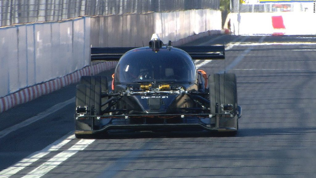 'Roborace' car makes street track debut in Marrakech